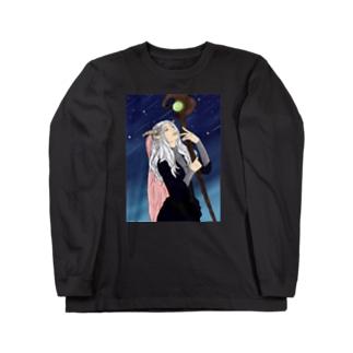 未来を占う魔女 Long sleeve T-shirts