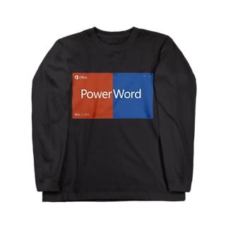 パワポ Long sleeve T-shirts