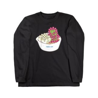 多肉植物たにくさん (小鉢に集合) Long sleeve T-shirts