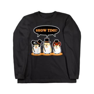 ヤンハム SHOW TIME Long sleeve T-shirts