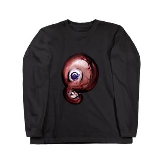 ぢごくのおみせやさんのタイジちゃん(恨) Long sleeve T-shirts