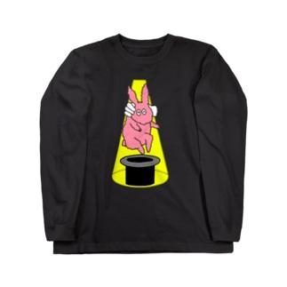 屋台の手品 Long sleeve T-shirts