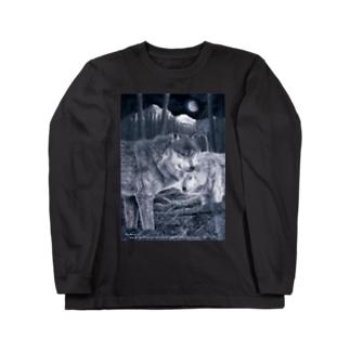EYES -視線- Long sleeve T-shirts