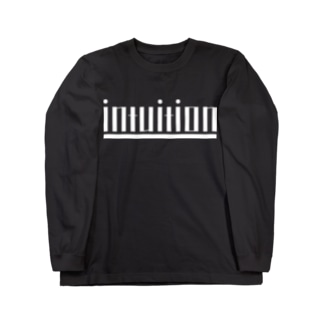 intuition(白ロゴ) Long sleeve T-shirts