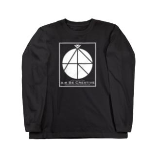 ABCロゴ Long sleeve T-shirts
