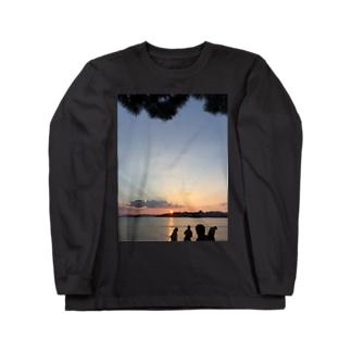 宍道湖 Long sleeve T-shirts