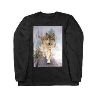 Forest of Kasilof  Long sleeve T-shirts