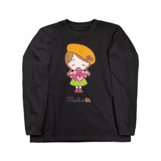 標準なメイコちゃん② Long sleeve T-shirts