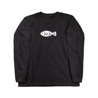 OSAKANA  ちいさめ Long sleeve T-shirts