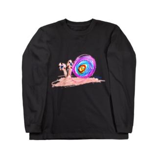 Bugs series -snail- Long sleeve T-shirts