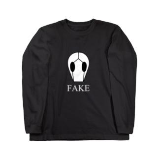 FAKE_W Long sleeve T-shirts