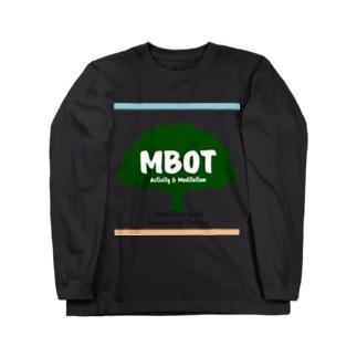 MBOT公式グッズ(空と大地バージョン) Long sleeve T-shirts