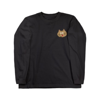 ねこ Long sleeve T-shirts