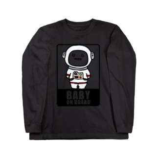 BABY on Board (宇宙服) Long sleeve T-shirts