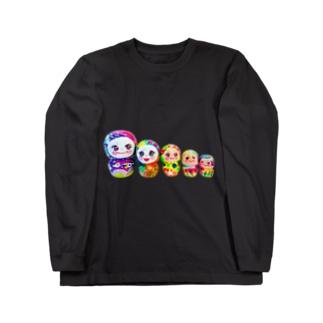 粘土の妖精ちゃん Long sleeve T-shirts