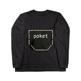 ポッケ Long sleeve T-shirts