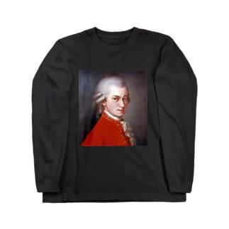 モーツァルト Long sleeve T-shirts
