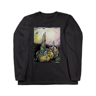 ひよこ書店 ☆ SEIKO Goods Shop from NASUのこんにやく芋 Long sleeve T-shirts