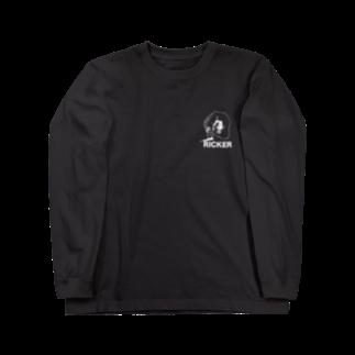 RICKERのAsh rises L/S tee Long sleeve T-shirts