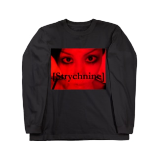 [Strychnine] zAkro フォトカード柄~弐~(カラー) Long sleeve T-shirts