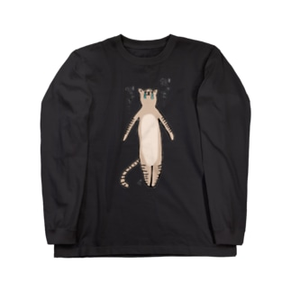 だってネコ Long sleeve T-shirts