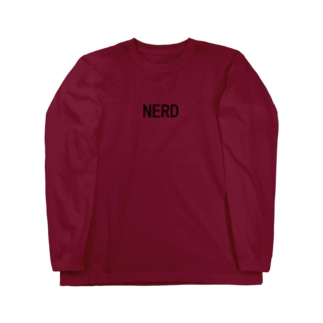 NERD(ナード) Long sleeve T-shirts