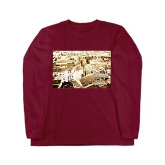 スペイン:グラナダ旧市街 Spain: Old area of Granada Long sleeve T-shirts