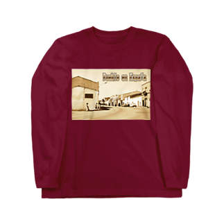 FUCHSGOLDのスペイン:村の昼下がり Spain: Afternoon in village Long sleeve T-shirts