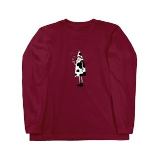 レーラ(牛柄) Long sleeve T-shirts