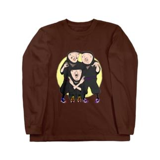 ninja ロングスリーブTシャツ