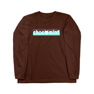チョコミンクマアパレル ロングスリーブTシャツ