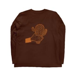 サボテンおじさんのロンT Long sleeve T-shirts