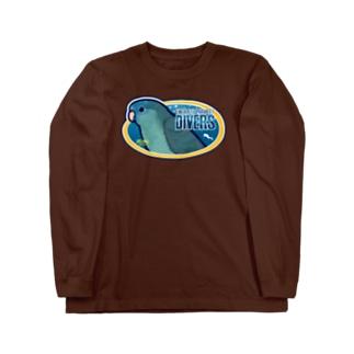 ダイビングショップ・さざなみ Long sleeve T-shirts