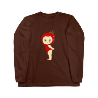 フラガリアアナナッサちゃん Long sleeve T-shirts