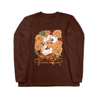 Chocoholidayグッズ Long sleeve T-shirts