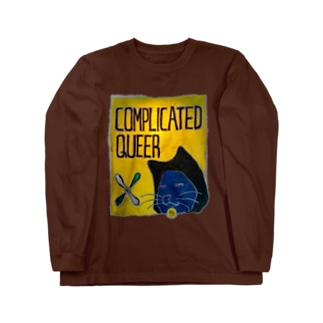 COMPLICATED QUEER Long sleeve T-shirts
