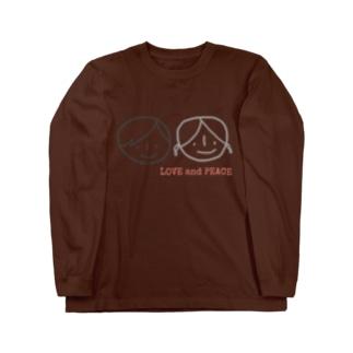 LOVE &PEACE Long sleeve T-shirts