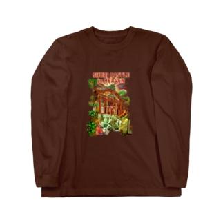天国の首里城 Long sleeve T-shirts
