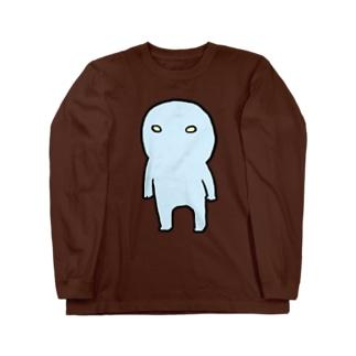ウチウジン直立 Long sleeve T-shirts
