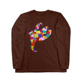 ナマケモノ Long sleeve T-shirts