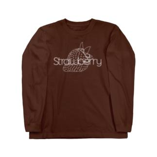シロシロ・ストロベリー Long sleeve T-shirts