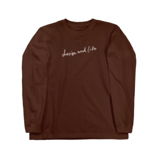 design and life Long sleeve T-shirts