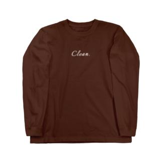 Clean. Long sleeve T-shirts