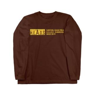 H.E.A.D.S ロゴ Long Sleeve T-Shirt