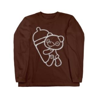 【Teddy bear】 Long sleeve T-shirts