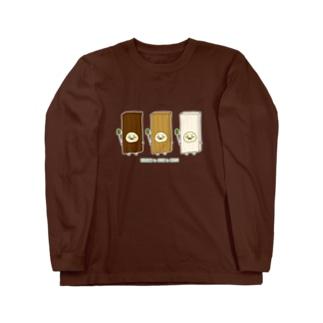 砂糖6杯分の木のコスプレ Long sleeve T-shirts