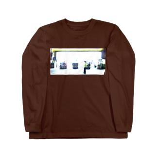 夜のドラッグストア Long sleeve T-shirts