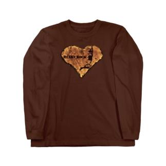 HEART ROCK Long sleeve T-shirts