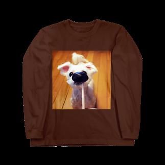 akaneRの犬 Long sleeve T-shirts