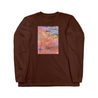 朝あけの街 Long sleeve T-shirts